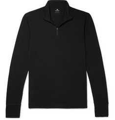 Sunspel Merino Wool Half-Zip Sweater