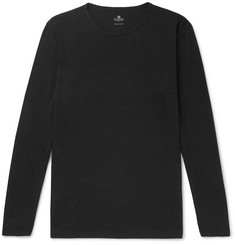 Sunspel Slim-Fit Merino Wool T-Shirt