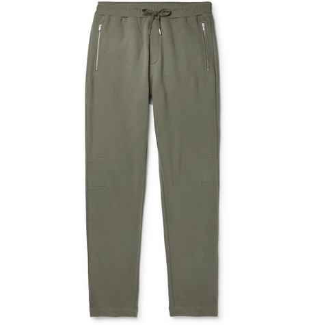 Sunspel Slim-Fit Fleece-Back Cotton and Cashmere-Blend Jersey Sweatpants