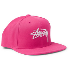 Stüssy Logo-Embroidered Twill Baseball Cap