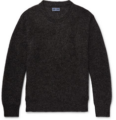 Blue Blue Japan Mohair-Blend Sweater
