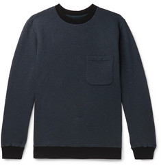 Blue Blue Japan Slub Loopback Cotton-Jersey Sweatshirt