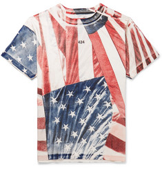 424 - Printed Cotton-Jersey T-Shirt