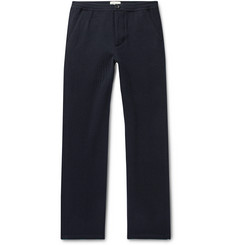 Oliver Spencer - Navy Striped Wool Trousers