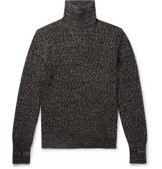 Oliver Spencer Mélange Wool Rollneck Sweater