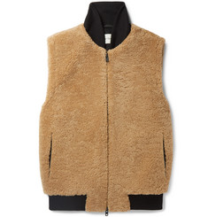 Oliver Spencer Shearling Gilet