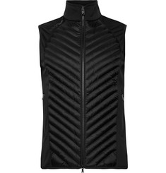 Bogner Owen Quilted Shell and Fleece-Back Stretch-Jersey Gilet