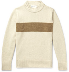 Universal Works Striped Wool-Blend Sweater