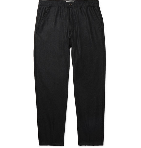 Universal Works Mélange Wool-Blend Trousers