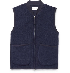 Universal Works Textured Wool-Blend Gilet