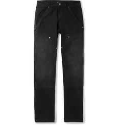 BILLY Panelled Cotton-Gabardine Trousers