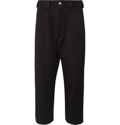 BILLY Black Tapered Wool-Twill Suit Trousers