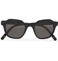 Dick Moby Barcelona Round-Frame Acetate Sunglasses