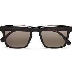 Dick Moby Warsaw Square-Frame Tortoiseshell Acetate Sunglasses