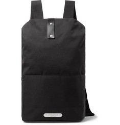 Brooks England - Dalston Medium Leather-Trimmed Canvas Backpack