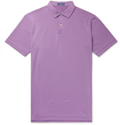 Peter Millar Coltrane Striped Stretch-Jersey Polo Shirt