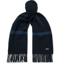 Loro Piana - Fringed Striped Baby Cashmere Scarf