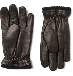 Hestra John Touchscreen Primaloft Leather Gloves
