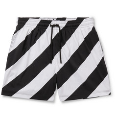 Off-White + Vilebrequin Short-Length Printed Swim Shorts