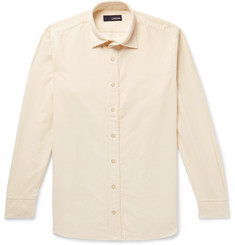 Lardini Slim-Fit Cotton-Corduroy Shirt