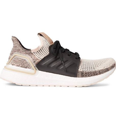 Adidas Originals Knits ULTRABOOST 19 RUBBER-TRIMMED PRIMEKNIT RUNNING SNEAKERS