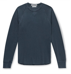 J.Crew Slim-Fit Wallace & Barnes Garment-Dyed Textured-Cotton Sweatshirt