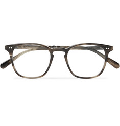 Mr Leight Getty C Square-Frame Tortoiseshell Acetate Optical Glasses