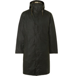 Barbour Hooded Waxed-Cotton Jacket