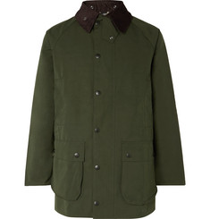 Barbour White Label Beaufort Corduroy-Trimmed Shell Jacket