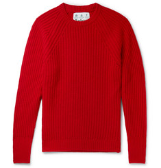 Barbour White Label Tynedale Ribbed Wool Sweater