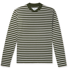 Barbour Lanercost Striped Cotton-Jersey T-Shirt