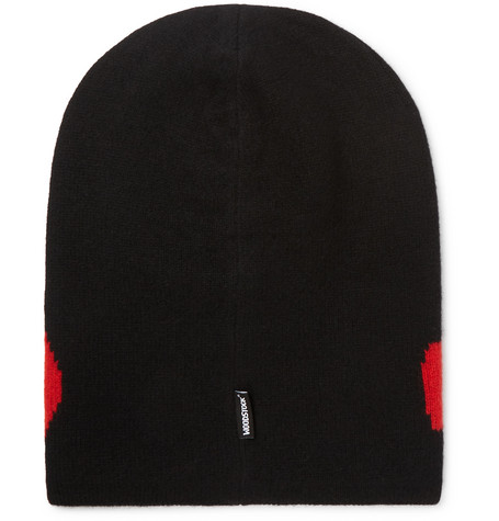 Moncler Genius Accessories 3 GRENOBLE INTARSIA WOOL AND CASHMERE-BLEND BEANIE