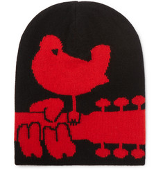 Moncler Genius 3 Grenoble Intarsia Wool and Cashmere-Blend Beanie