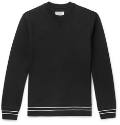Mr P. Striped Loopback Cotton-Jersey Sweatshirt