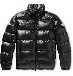 Moncler Genius 6 Moncler 1017 ALYX 9SM Quilted Glossed-Nylon Down Jacket