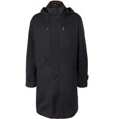 Ermenegildo Zegna Leggerissimo Wool and Silk-Blend Parka