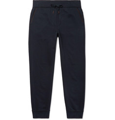 Ermenegildo Zegna Tapered Cotton-Blend Sweatpants