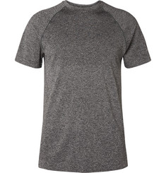 Reigning Champ Perforated Mélange Jersey T-Shirt