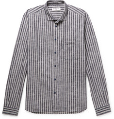 YMC Striped Slub Cotton Shirt