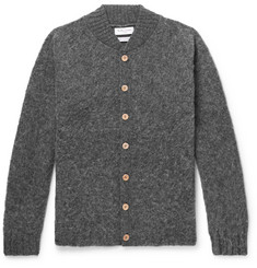YMC - Brushed-Wool Cardigan