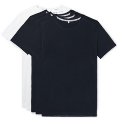 Hamilton and Hare Five-Pack Cotton-Jersey T-Shirts