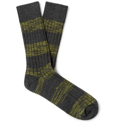 The Workers Club Merino Wool Mélange Socks