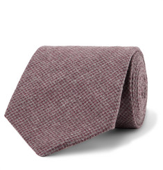 Oliver Spencer 8cm Brushed Organic Cotton-Blend Jacquard Tie