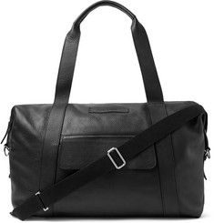Oliver Spencer Pebble-Grain Leather Holdall