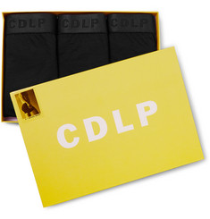 CDLP Short Three-Pack Stretch-Lyocell Boxer Briefs
