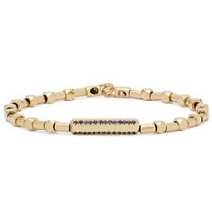51ccff07f50 Luis Morais - Gold and Sapphire Bracelet