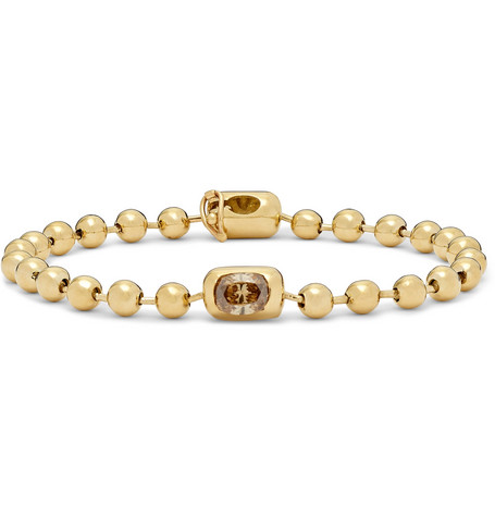 Gold Diamond Bracelet by Luis Morais