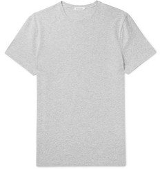 Acne Studios Edvin Mélange Stretch-Cotton Jersey T-Shirt