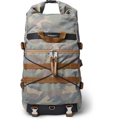 Indispensable Radd Camouflage-Print Mesh and Ripstop Backpack