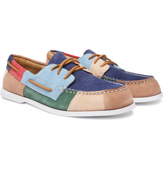 Sperry Authentic Original Colour-Block Suede Boat Shoes